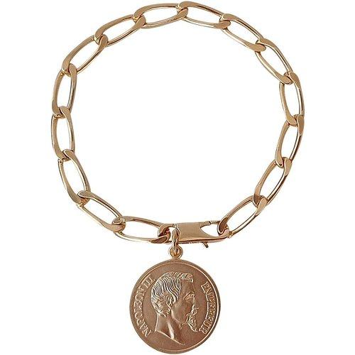 Bracelet maillons et médaille - SECRETS DES ANGES - Modalova