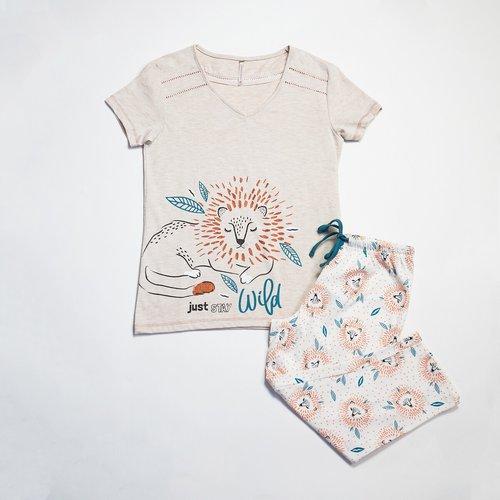 Pyjama corsaire Lion - MELISSA BROWN - Modalova