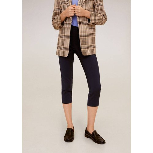 Pantalon droit coton - Mango - Modalova