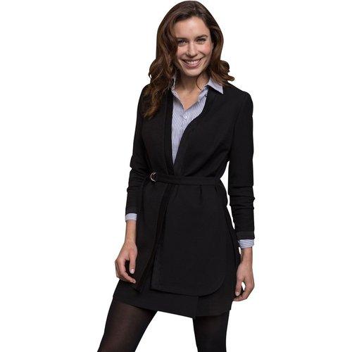 Longue veste noire - CHEMINS BLANCS - Modalova