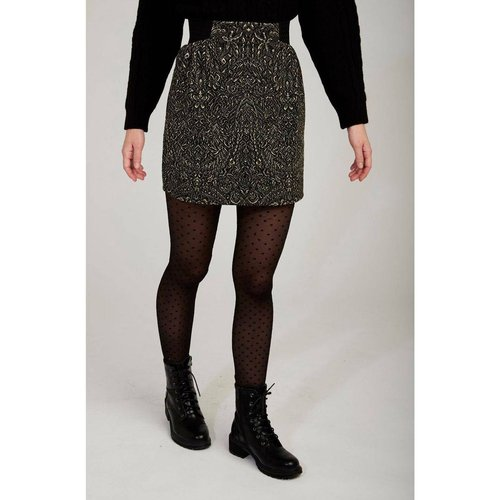 Jupe droite à taille elastiquée - Naf Naf - Modalova