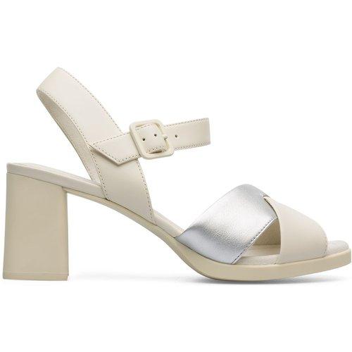 Sandales élastiques à talons cuir Kara Sandal - Camper - Modalova
