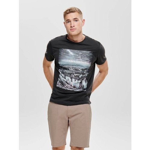 T-Shirt Imprimé - ONLY ET SONS - Modalova
