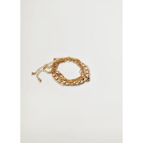 Set bracelets combinés - Violeta by Mango - Modalova