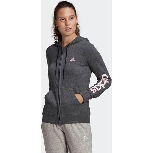 Veste à capuche Essentials Logo Full-Zip - adidas performance - Modalova
