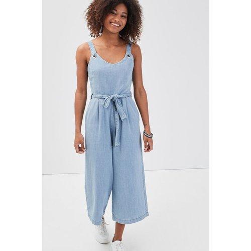 Combinaison pantalon en jean - CACHE CACHE - Modalova