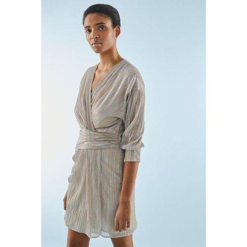 Robe courte cache-cœur avec Fil textile - PABLO - Modalova