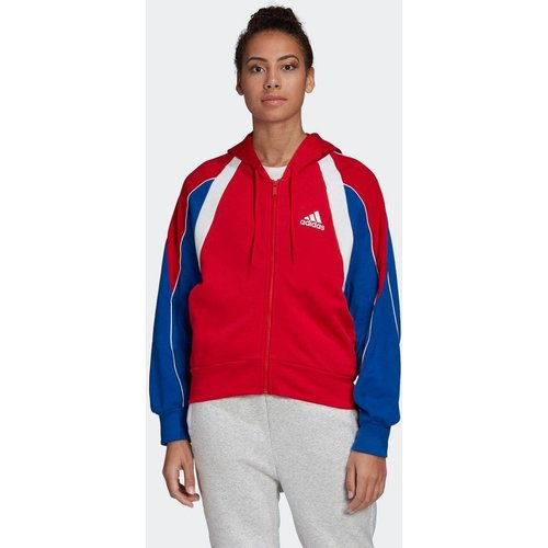 Veste à capuche Colorblock Full-Zip - adidas performance - Modalova