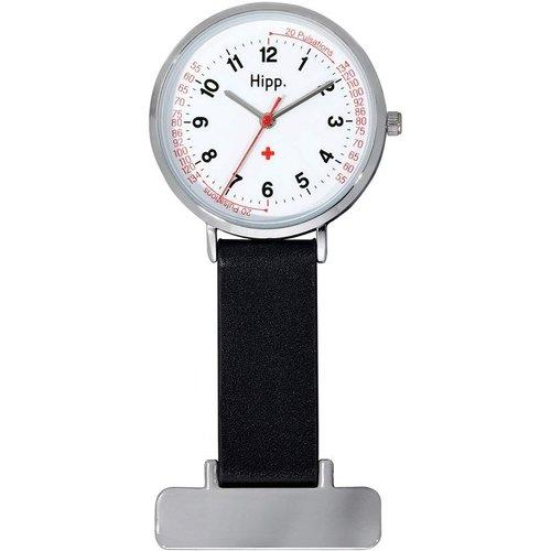 Montre infirmière bracelet cuir - HIPP - Modalova