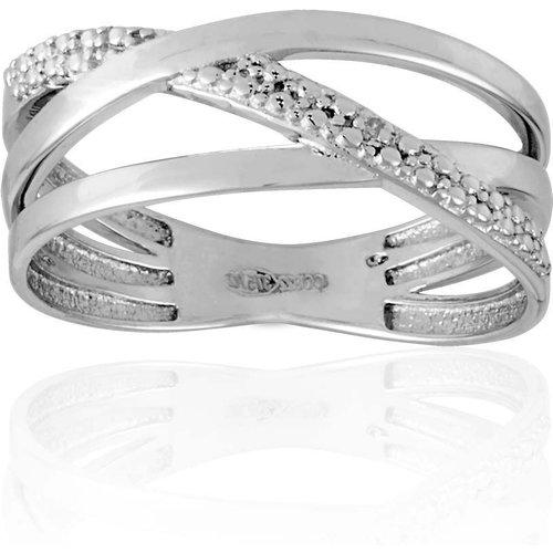 Bague en Or 375/1000 et Diamant - CLEOR - Modalova
