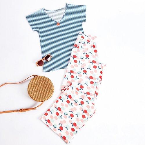 Pyjama manches courtes Peach - MELISSA BROWN - Modalova