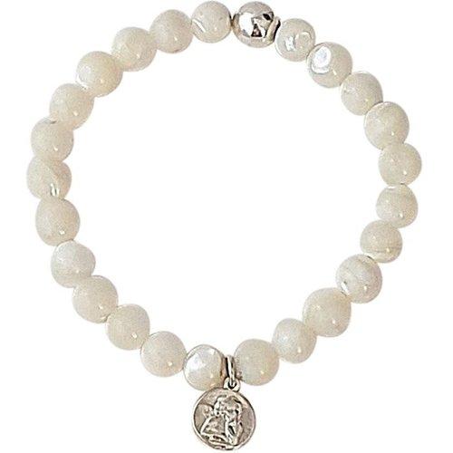 Bracelet perles de nacre SERENITY - SECRETS DES ANGES - Modalova