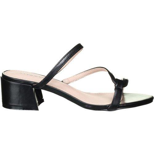 Sandales à talons à talons carrés - LEADER MODE - Modalova