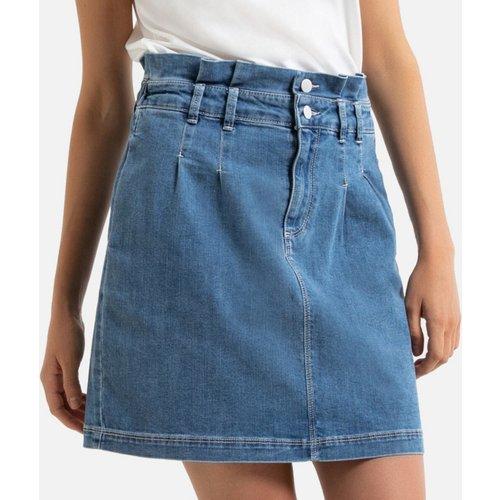 Jupe jean taille haute - Naf Naf - Modalova
