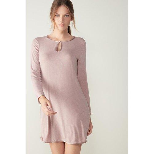 Chemise de nuit en /soie silk touch - INTIMISSIMI - Modalova
