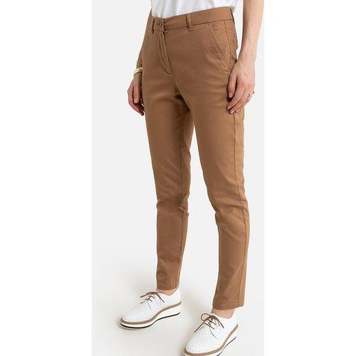 Pantalon droit chino, sergé stretch - Anne weyburn - Modalova