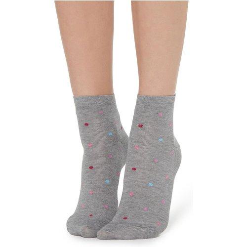 Socquettes mode avec fantaisie à pois - CALZEDONIA - Modalova