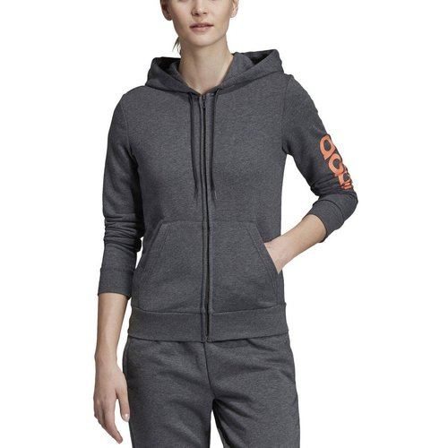 Sweat-shirt Essentials linear zippé à capuche - adidas performance - Modalova