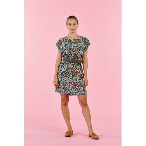 Robe imprimée petites fleurs robe SAPHIR - DERHY - Modalova