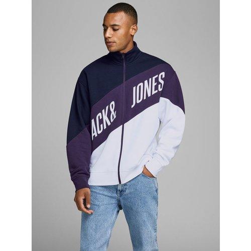Sweat-shirt Zippé logo imprimé - jack & jones - Modalova