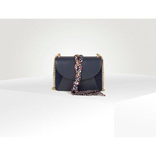 Besace bimatière détail foulard - Naf Naf - Modalova