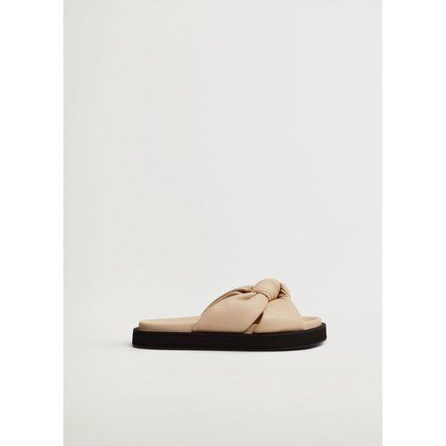 Sandales plateforme noeud - Mango - Modalova
