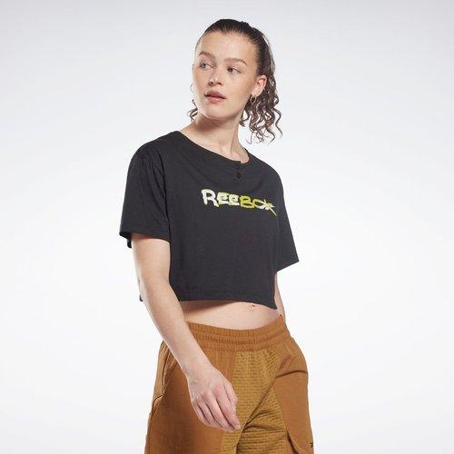 T-shirt crop MYT - REEBOK SPORT - Modalova