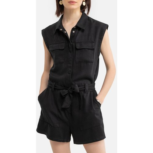 Combishort sans manches, col chemise - Only - Modalova