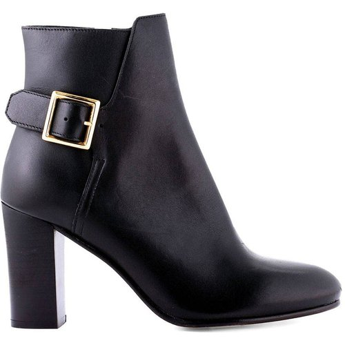 Boots cuir à talon Vaboucle - COSMOPARIS - Modalova