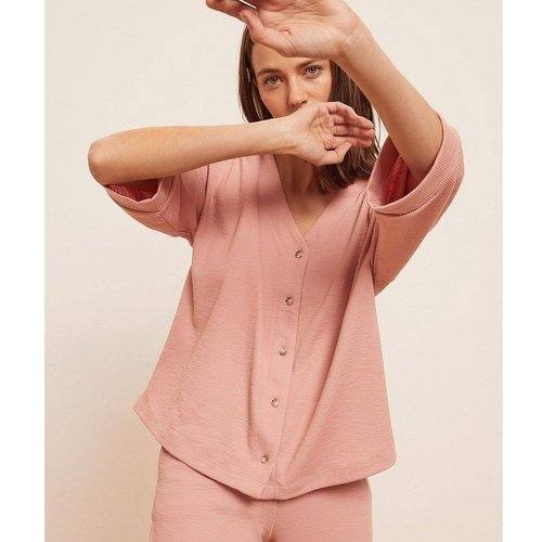 Chemise de pyjama manches courtes AGATHA - ETAM - Modalova