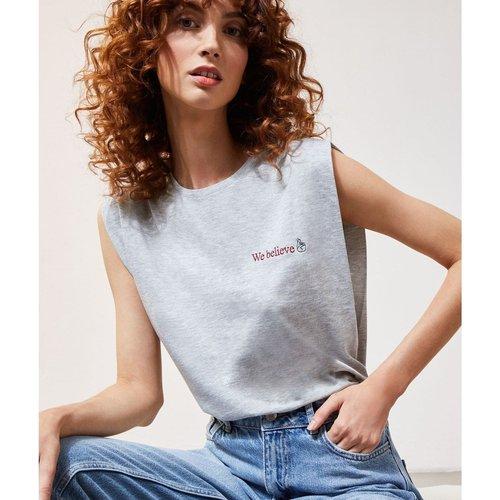 T-shirt sans manches col rond YOU - ETAM - Modalova