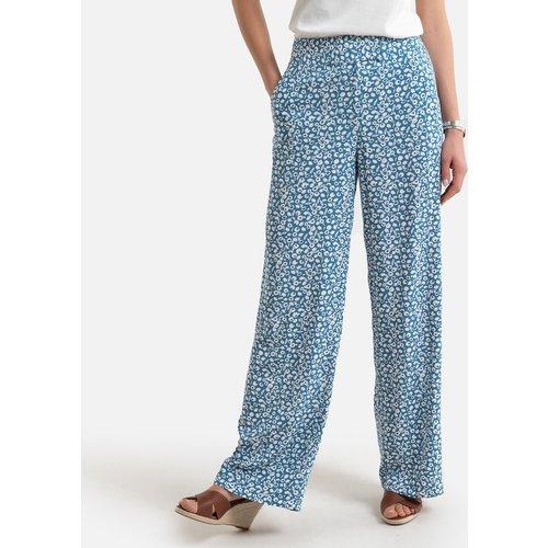 Pantalon large et fluide, imprimé floral - Anne weyburn - Modalova
