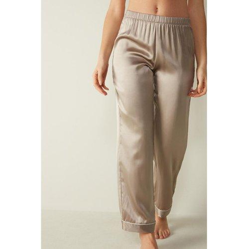Pantalon en satin de soie - INTIMISSIMI - Modalova
