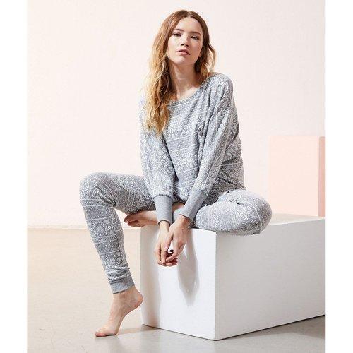 T-shirt de pyjama imprimé SAUL - ETAM - Modalova