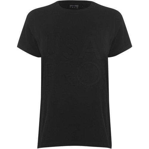T-shirt col rond manche courte - USA Pro - Modalova