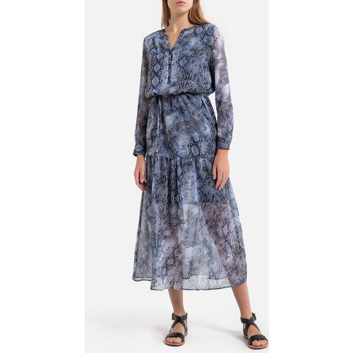 Robe longue motif python - IKKS - Modalova