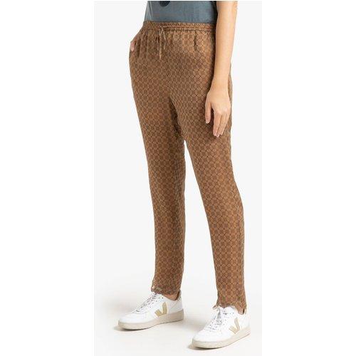Pantalon slim imprimé TRUISM - MES DEMOISELLES - Modalova