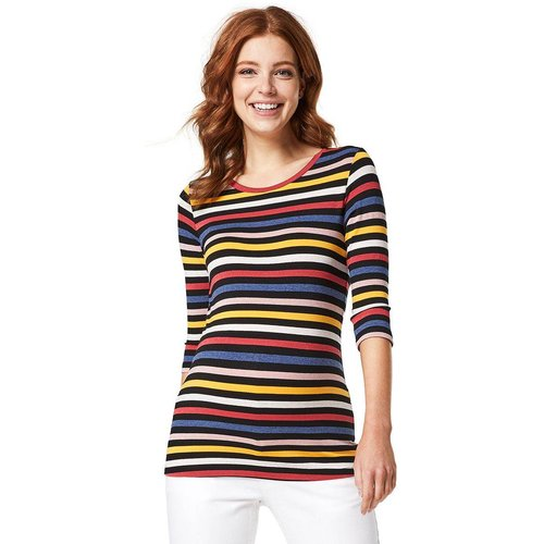 T-shirt de grossesse Stripe - QUEEN MUM - Modalova