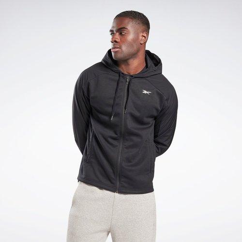 Veste à capuche avec zip Knit-Woven - REEBOK SPORT - Modalova