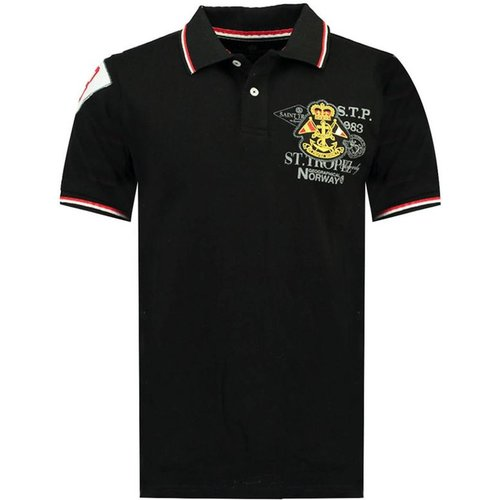 Polo manches courtes KOLLOBRIERE - geographical norway - Modalova