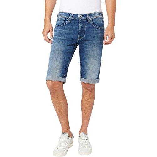 Short en jean droit Cash - Pepe Jeans - Modalova