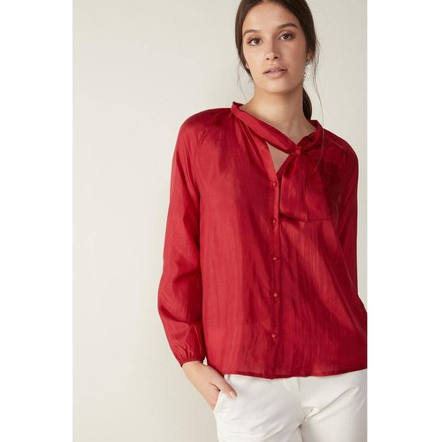 T-Shirt manches longues en soie - INTIMISSIMI - Modalova
