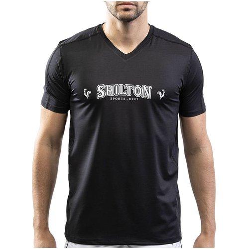 T-shirt sport col v - SHILTON - Modalova