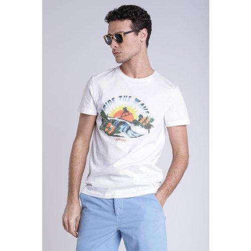 T-shirt print - BONOBO - Modalova