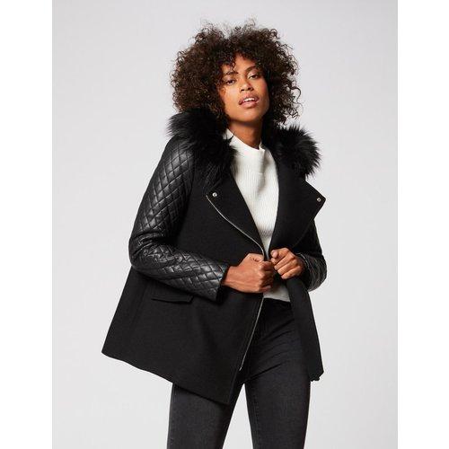 Manteau ample à capuche - Morgan - Modalova