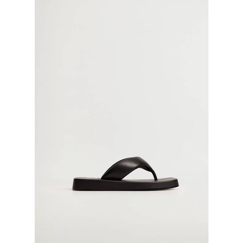 Sandales matelassées plateforme - Mango - Modalova