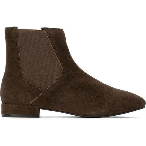 Boots cuir Chelsea - LA REDOUTE COLLECTIONS - Modalova