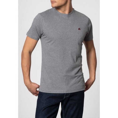 T-shirt basique uni KEYPORT - MERC LONDON - Modalova