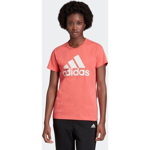T-shirt col rond manches courtes logo - adidas performance - Modalova