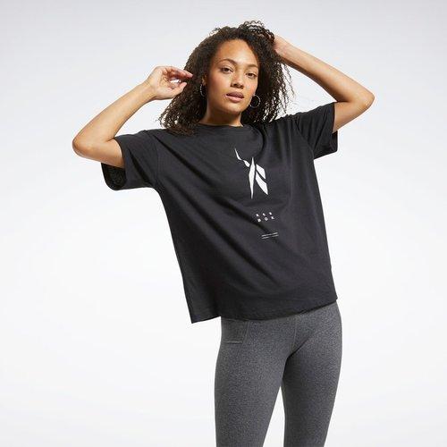 T-shirt à motif Edgeworks - REEBOK SPORT - Modalova